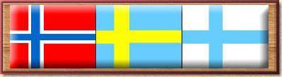 Flaggen Skandinavien