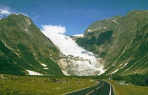 Tagesbild: Suphellebreen - Norwegen